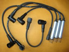 OPEL CORSA A 1.6i (1988-93) M4 fittings KEVLAR CORE IGNITION LEADS - XC995